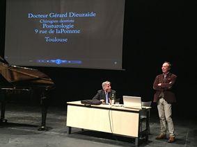 conférence du dr gérard dieuzaide posturologue
