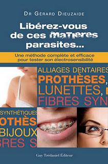 livre libéréez vous de ces matières parasites du Dr Gérard Dieuzaide
