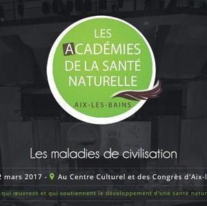 Confrérence du Dr Dieuzaide conférence académie de santé naturelle Aix les Bains