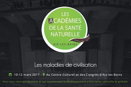 Confrérence of Dr. Dieuzaide conference academy of natural health Aix Baths