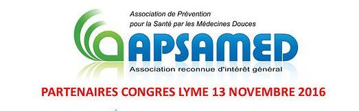 Congrès Apsamed maladie de Lyme conference du dr dieuzaide