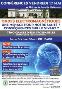 Conférence : Ondes électromagnétiques: une menace pour notre santé ? Conséquences sur le vivant ?